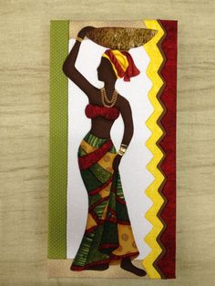 afrikanische frauen Encontrado no Bing em Encontrado no Bing em Arte Tribal, Tribal Art, Afrique Art, African Quilts, African Art Paintings, Abstract Painters, Afro Art, Painted Ladies, Black Women Art