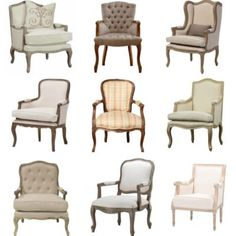 10 Affordable French Country Chairs