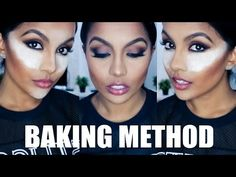 How To Bake / Cook Your Face with Makeup Tutorial (As seen on Kim Kardashian!) - YouTube