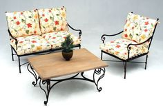 Our range of wrought iron garden pieces comprises everything from sun-loungers to relaxing chairs and garden benches, to wall and pot-plant trellises and everything in between. Iron Furniture, Steel Furniture, Outdoor Furniture, Outdoor Decor, Garden Benches, Wrought Iron, Sun Lounger, Chrome, Chairs