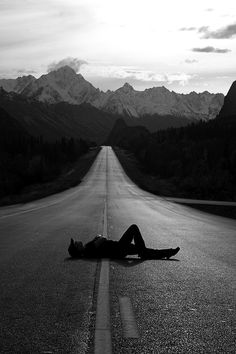 Nothing behind me, everything ahead of me, as is ever so on the road.                                                                                                                .....Jack Kerouac, On the Road