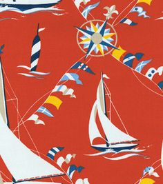 SET SAIL - Waverly - Waverly Fabrics, Waverly Wallpaper, Waverly Bedding, Waverly Paint and Waverly Bedding, Waverly Fabric, Waverly Wallpaper, Coastal Wall Art, Summer Prints, Set Sail, Nautical Theme, Pattern Wallpaper, Printing On Fabric
