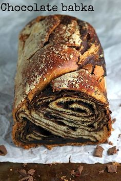 Chocolate Babka - An amazing recipe. #foodie #foodporn #dan330…