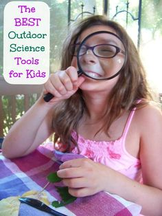 Become an outdoor scientist with these 10 amazing items that encourage hands-on exploration!