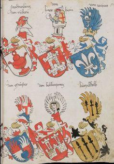 Wappenbuch des St. Galler Abtes Ulrich Rösch Heidelberg · 15. Jahrhundert Cod. Sang. 1084 Folio 92