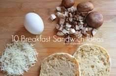 10 Breakfast Sandwich Ideas using the Hamilton Beach Breakfast Sandwich maker via east9thstreetEATS.com #sp