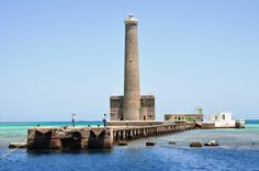 Sanganeb Lighthouse in the Red Sea