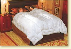 """Embrace™ Down Comforter - Pacific Coast Feather Company.  This is also a must have for """"luxury comfort"""" in your own bedroom."""