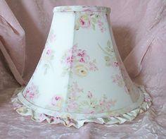 Rachel Ashwell Simply Shabby Chic Pink Roses Lamp Shade