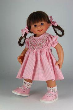 POUPEE ORIGINAL MÜLLER-WICHTEL WIEBKE - poupée de collection de Rosemarie Müller