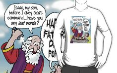 Abraham & Isaac Father's Day by atheistcards