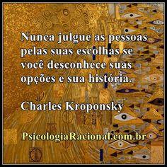 Nunca julgue as pessoas pelas suas escolhas se você desconhece suas opções e sua história. Charles Kroponsky http://www.psicologiaracional.com.br/2011/10/suspeita-de-que-remedios-para-depressao.html Depressão #tristeza #julgamento