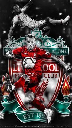 Premier League: Xherdan Shaqiri's messag Liverpool Football Tickets, Liverpool Poster, Ynwa Liverpool, Liverpool Fc Wallpaper, Liverpool Wallpapers, Premier League Tickets, Stoke City Fc, This Is Anfield, Sports