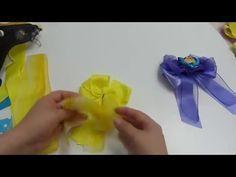 Diy moños o lazos pares pequeños para decorar el cabello de las Niñas- - YouTube