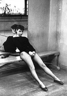 Audrey Hepburn, 1952 (After a Dance Rehearsal)