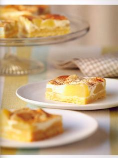Apple Slice - A popular CWA (Country Women's Association) slice with a sour cream topping. Some old favourites in this book.