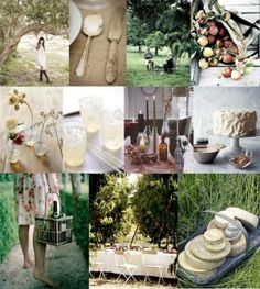 rustic outdoor wedding by sharon.smi
