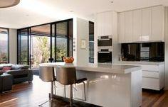 splashback echoes the window frames. Prebuilt - Mod -The range-Our Houses-