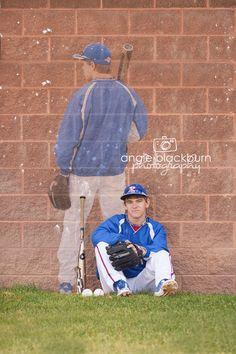 senior boy photography poses baseball sports