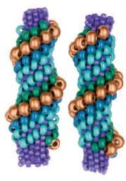 Are you ready to have some serious fun with spiral peyote? Cellini spiral, named after a famed 16th century Italian artist of dubious reputation and immense talent, is one of my favorite ways to take what would otherwise be a plain spiral peyote rope and turn it into something full of color and texture. The…