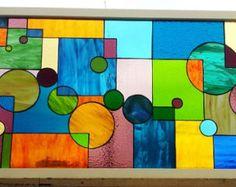 Stained Glass Windows Dogwood Flower by TerrazaStainedGlass
