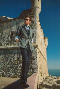 Love a belted jacket on a man   #menswear #zegna #mensfashion #mensstyle #fashion #style