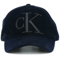 Calvin Klein Jeans embroidered baseball cap (1.325 UYU) ❤ liked on Polyvore featuring accessories, hats, caps, blue, embroidered baseball caps, embroidered hats, blue ball cap, blue baseball cap and embroidery hats