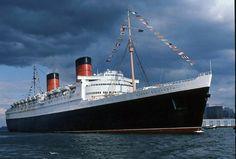 Queen Elizabeth's last voyage
