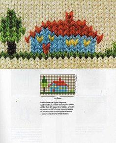 Diy Crafts - -Knitting for kids free pattern american girls 33 ideas knitting Baby Knitting Patterns, Baby Sweater Knitting Pattern, Intarsia Patterns, Knitting Charts, Knitting For Kids, Knitting Designs, Knitting Stitches, Baby Patterns, Embroidery Stitches