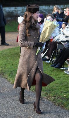 Kate Middleton Photos: The Royal Family Attend Church On Christmas Day