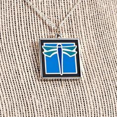 Dragonfly Pendant Necklace | Motawi Tileworks | Motawi Tileworks