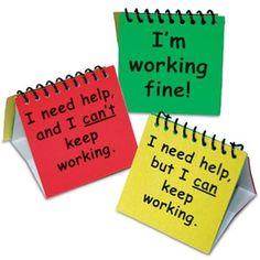 hulp vragen bij zelfstandig werken!