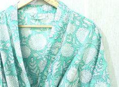 Cotton Kimono, Floral Kimono, Cotton Fabric, Cotton Bag, Winter Kimono, Cotton Nightwear, Kimono Design, Night Wear, Night Suit