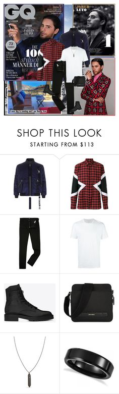 """""""Jared Leto : )"""" by thisiswhoireallyam7 ❤ liked on Polyvore featuring Rebecca Minkoff, Blood Brother, Neil Barrett, Lee, Yves Saint Laurent, Dolce&Gabbana, Tom Wood, Allurez, John Hardy and men's fashion"""