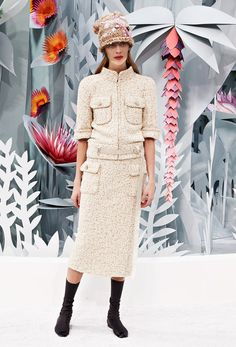 SPRING/SUMMER 2015  Haute Couture - Look 19 - CHANEL