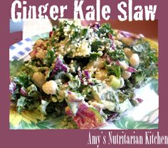 Amy's Nutritarian Kitchen.  This recipe looks fabulous!