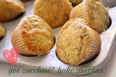 Harvest Zucchini Muffins