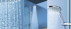 Euphoria Shower System - a combination of modern, contemporary design and functional excellence.