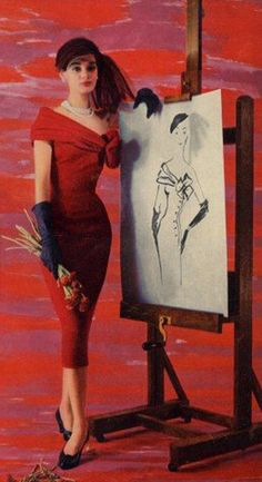 Givenchy, 1955
