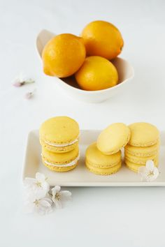 Meyer Lemon Macarons....my two favorite things combined!