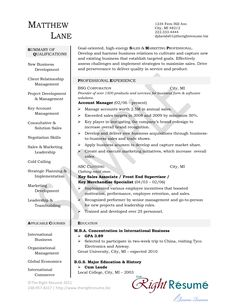 examples of management resumes manager resume example
