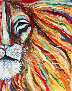 texturé, Iron Lion Zion, lion abstraite, colorée, rasta, la Jamaïque, affiches, décoration, bob marley, reggae, moderne, africaine