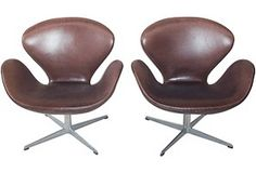 Arne Jacobsen for F. Hansen Chairs, One Kings Lane $9059