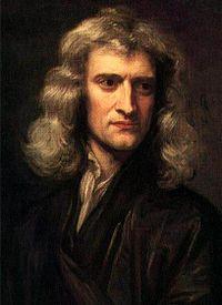ISAAC NEWTON: foi um cientista inglês, mais reconhecido como físico e matemático, embora tenha sido também astrônomo, alquimista, filósofo natural e teólogo.  Sua obra, Philosophiae Naturalis Principia Mathematica, é considerada uma das mais influentes na história da ciência. Publicada em 1687, esta obra descreve a lei da gravitação universal e as três leis de Newton, que fundamentaram a mecânica clássica.