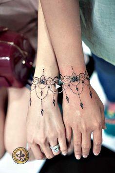 Mandala tattoo by tadashi - # mandala tattoo mandala tattoo by . - Mandala tattoo by Tadashi – # mandala tattoo Mandala tattoo by Tadashi – # mandala tat - Mandala Wrist Tattoo, Lace Tattoo, Diy Tattoo, Tattoo Ideas, Henna Mandala, Tattoo Hand, Tattoo Neck, Tattoo Script, Henna Art