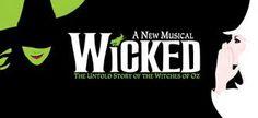 Wicked (título original: Wicked: The Untold Story of the Witches of Oz) es un musical basado en la novela de Gregory Maguire, Wicked: Memorias de una Bruja Mala, historia paralela a El maravilloso mago de Oz, clásico literario de L. Frank Baum, y a la película de 1939 El Mago de Oz. El musical está relatado desde la perspectiva de las brujas de la tierra de Oz, Elphaba (la Bruja Mala del Oeste) y Glinda (la Bruja Buena del Norte), mucho antes de que Dorothy llegara hasta ahí.