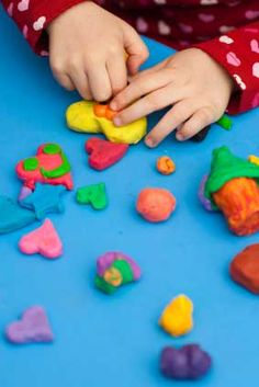 How to Make Natural Play Dough