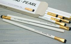 Palomino Blackwing Pencils Pearl - faves! #socialpreparednesskit #thoughtfulashell #eggpress