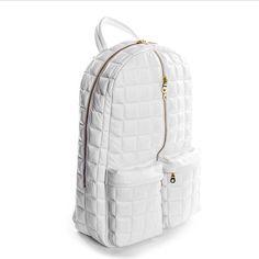 White & Hold backpack