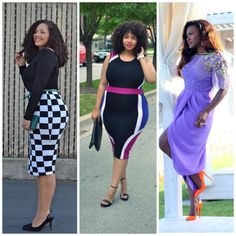 These are my Top 3 Favorite Fashion Bloggers (Left) GirlsWithCurves (Middle) GabiFresh (Right) StyleIsMyThing. Love them : )